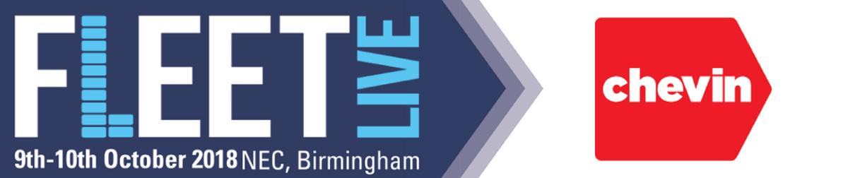 Chevin banner, Fleet Live graphic