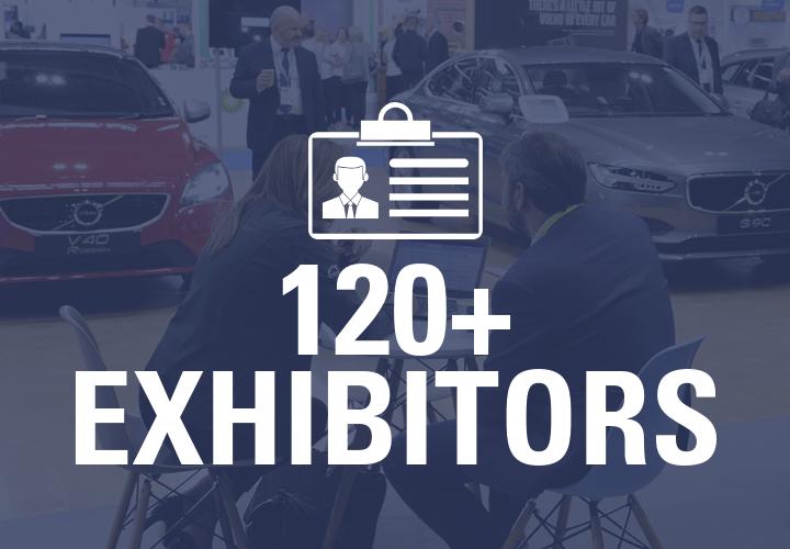 120+ Exhibitors