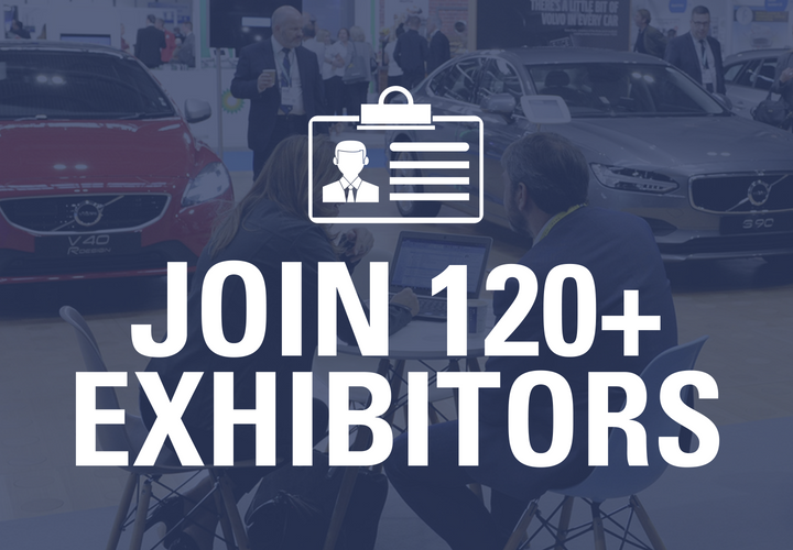 Join 120+ exhibitors