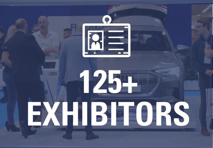125+ Exhibitors