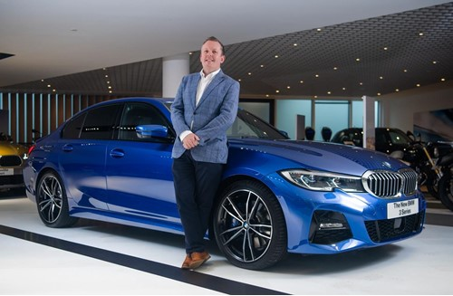 Rob East, BMW Group Corporate Sales General Manager