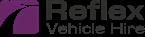 Reflex Vehicle Hire, colour logo
