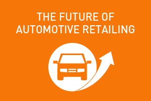 orange graphic, future of automotive retailing