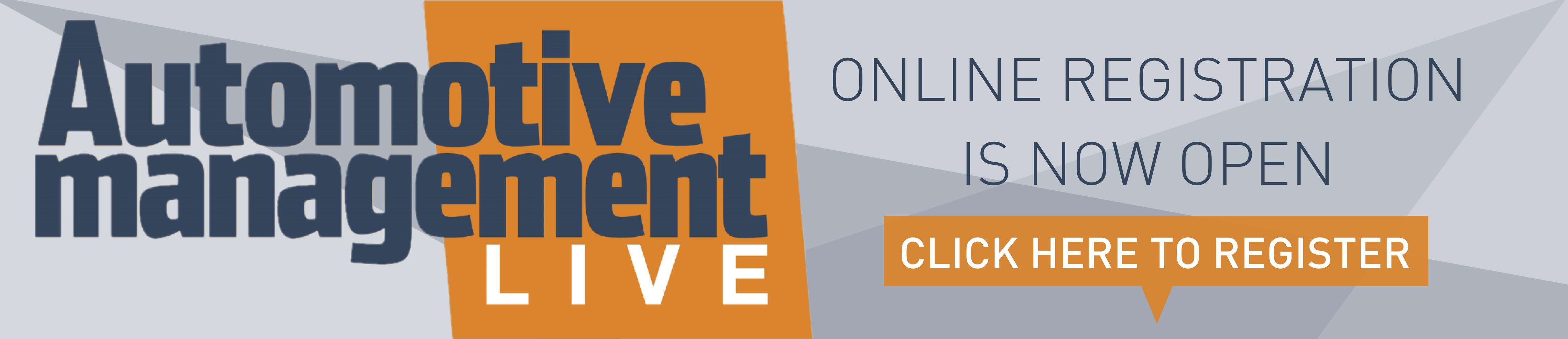 Automotive Management LIVE | Register Now