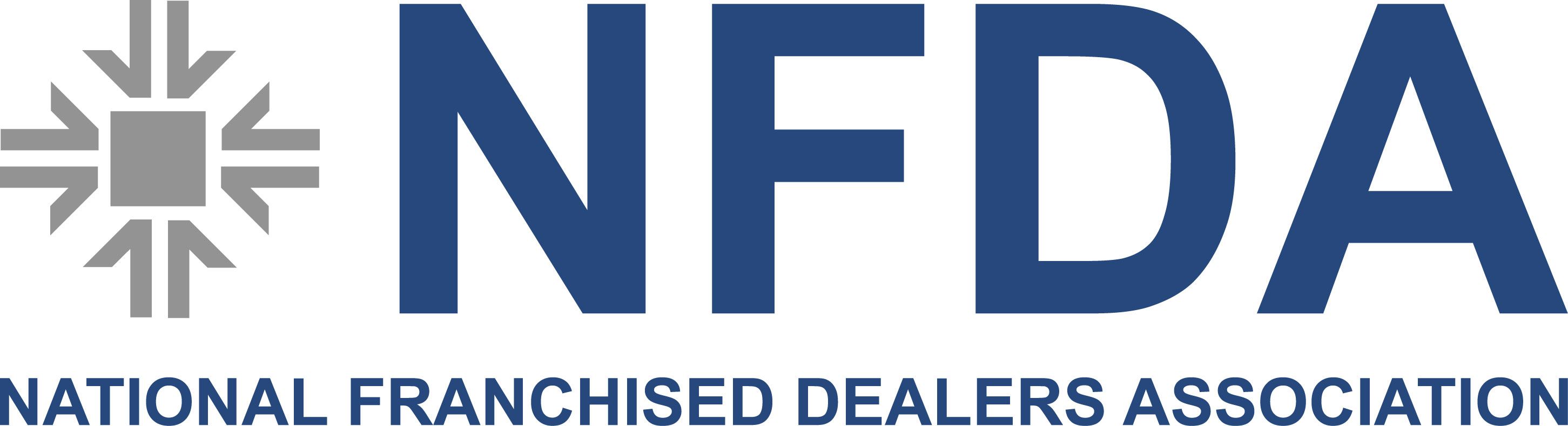 NFDA, colour logo