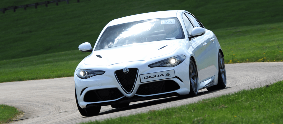 Alfa Romeo Giulia on The City Course