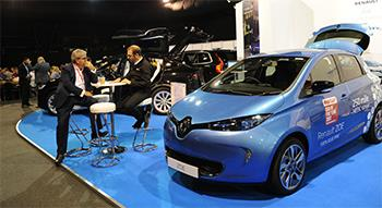 Discussing ULEV next to Renault Zoe