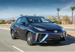 Toyota - Hydrogen Powered Car